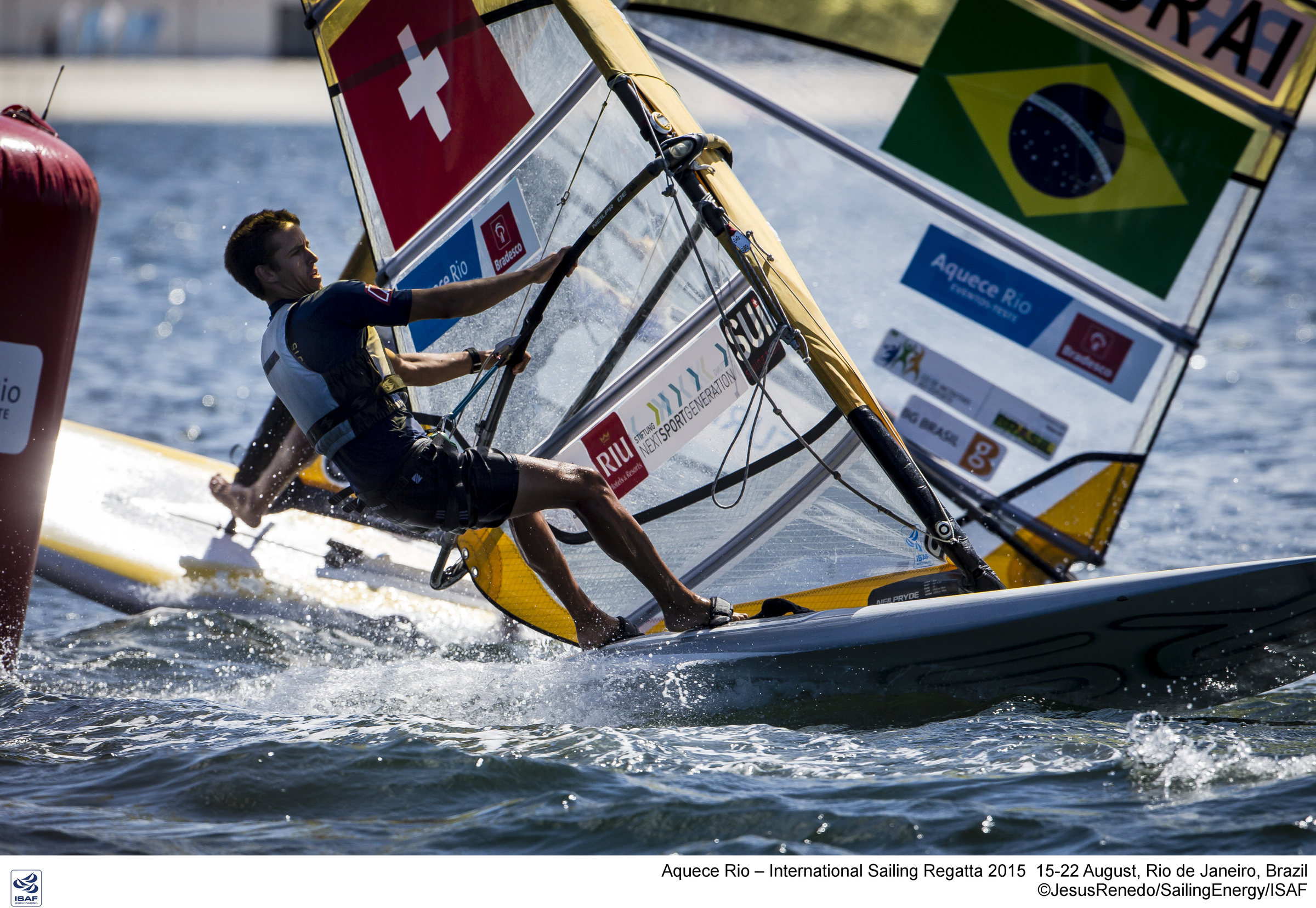Aquece Rio – International Sailing Regatta 2015 is the second sailing test event in preparation for the Rio 2016 Olympic Sailing Competition. Held out of Marina da Gloria from 15-22 August, the Olympic test event welcomes more than 330 sailors from 52 nations in Rio de Janeiro, Brazil.  Credit Jesus Renedo/Sailing Energy