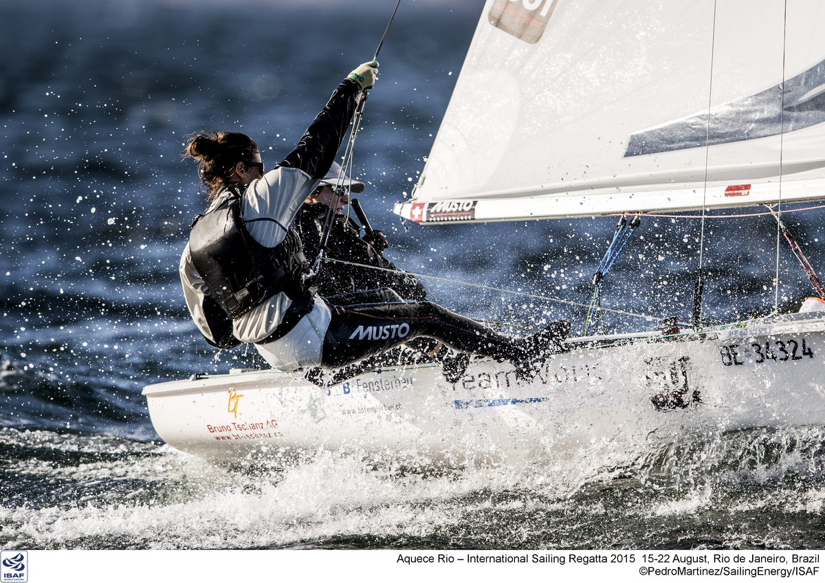 Aquece Rio – International Sailing Regatta 2015 is the second sailing test event in preparation for the Rio 2016 Olympic Sailing Competition. Held out of Marina da Gloria from 15-22 August, the Olympic test event welcomes more than 330 sailors from 52 nations in Rio de Janeiro, Brazil.   Credit Pedro Martinez/Sailing Energy