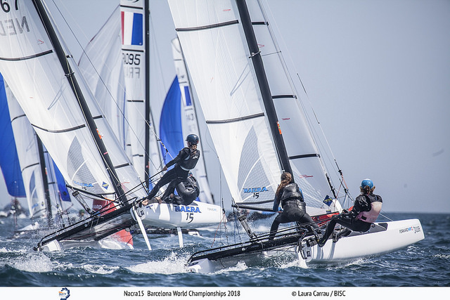 Nacra 15 - World Championship - Barcelona ESP - Final results
