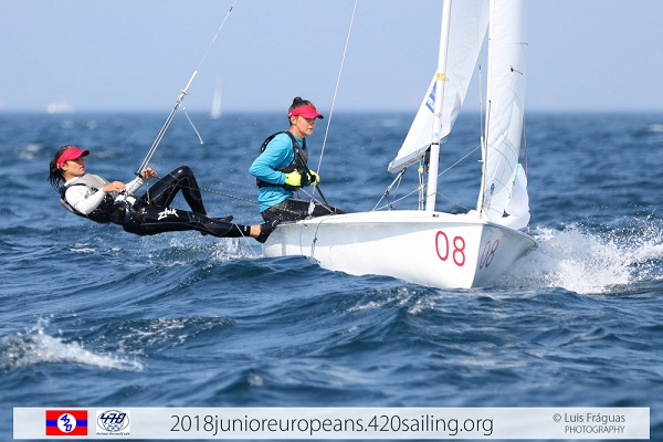 420 & 470 - Junior European Championship 2018 - Sesimbra POR - Day 4