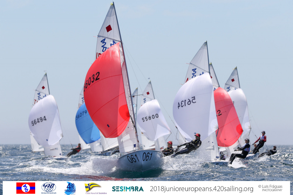 420 & 470 - Junior European Championship 2018 - Sesimbra POR - Day 2