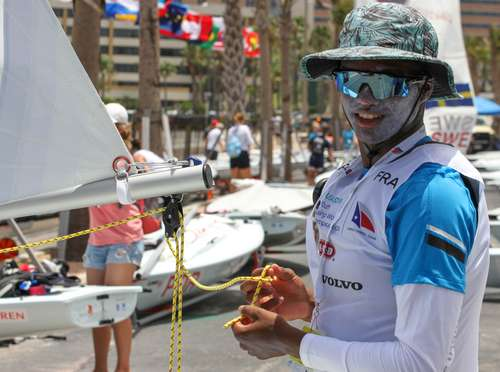29er, 420, Laser Radial, Nacra 15, RS:X - World Sailing Youth World Championship 2018 - Corpus Christi TX, USA - Premières manches ce lundi
