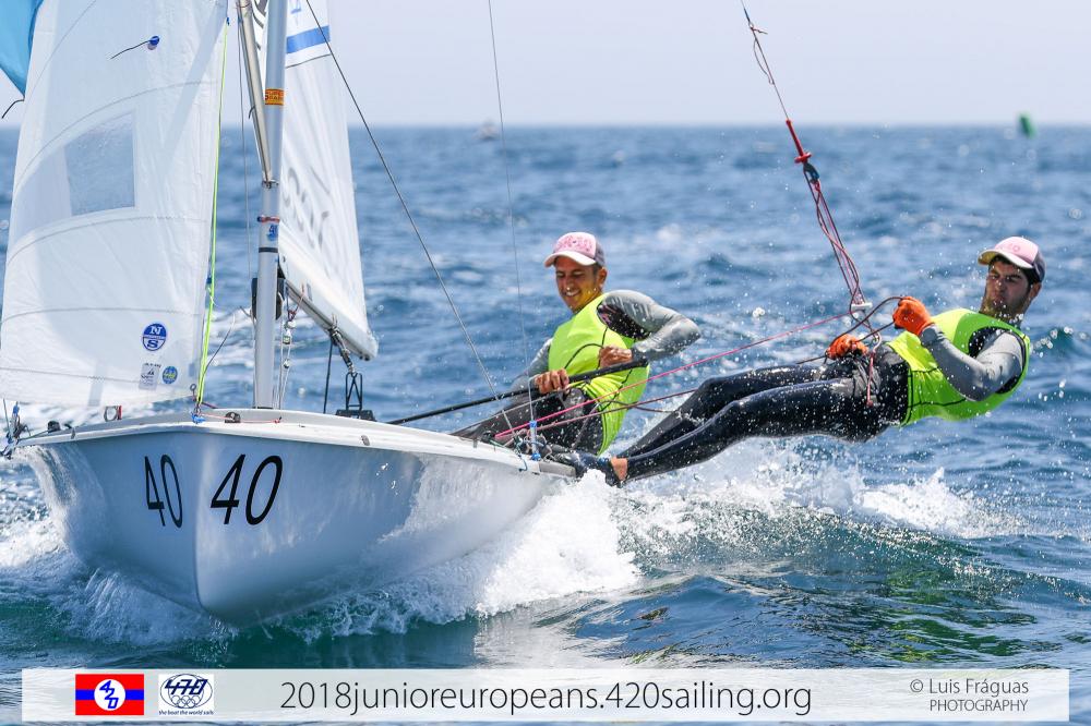 420 & 470 Junior European Championship - Sesimbra POR - Day 5 - Les premiers résultats sont connus
