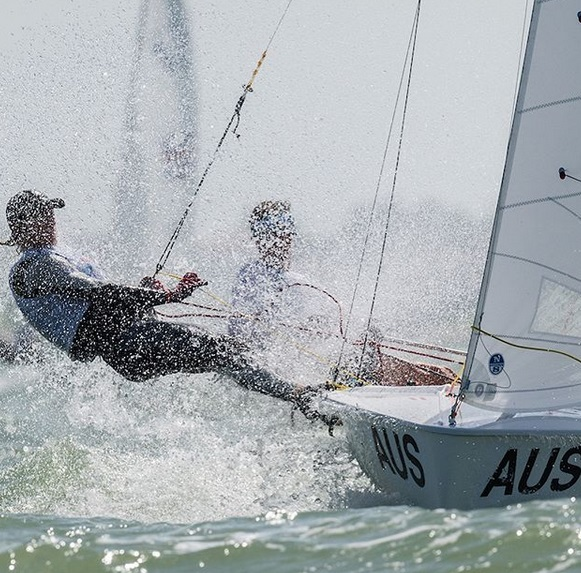420, Laser Radial, Nacra 15 - Youth World Champioship 2018 - Corpus Christi TX, USA - Day 4 - Les Suisses