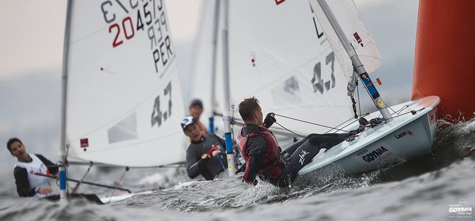 Laser 4.7 - Youth World Championship 2018 - Gdynia POL - Day 2