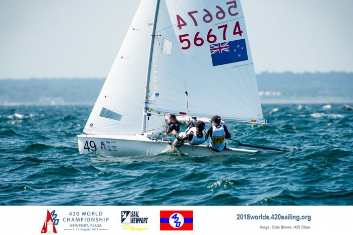 420 - World Championship 2018 - Newport RI, USA - Final results