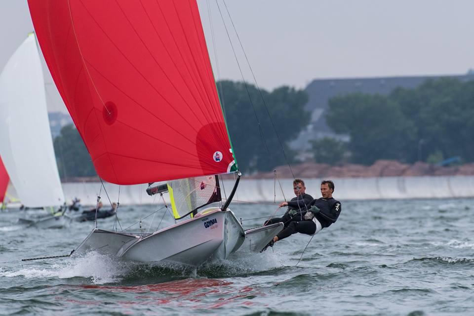 49er & 49erFX - European Championship 2018 - Gdynia POL - Day 2