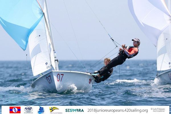 420 & 470 - Junior European Championship 2018 - Sesimbra POR - Day 3