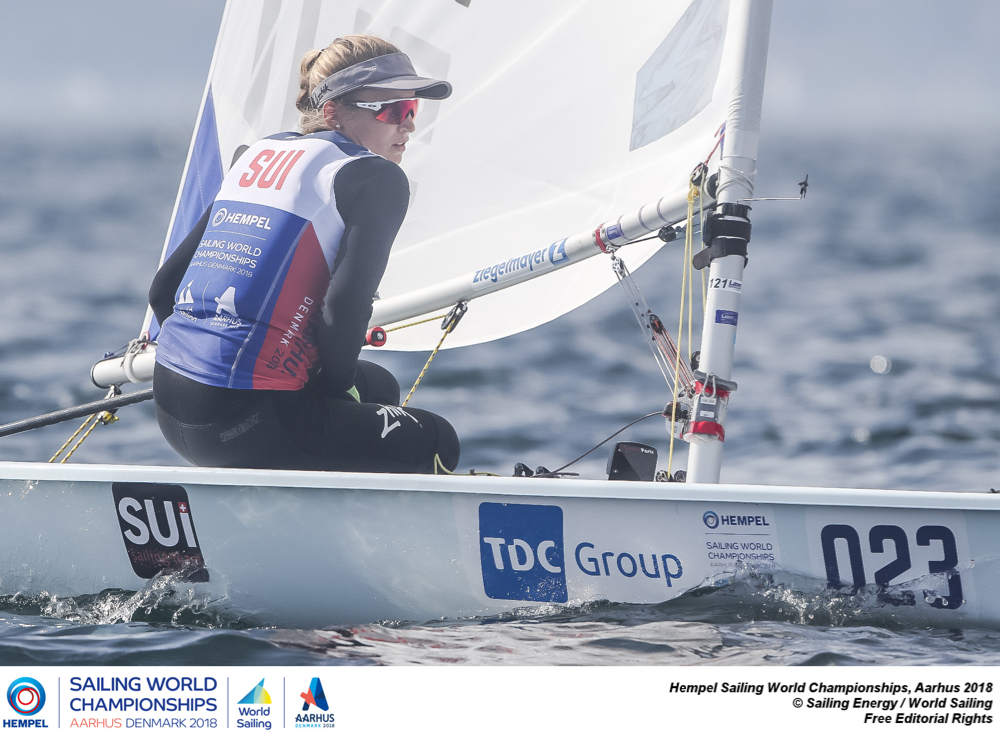 Olympic Classes - World Championship 2018 - Aarhus DEN - Day 7 - Les Suisses