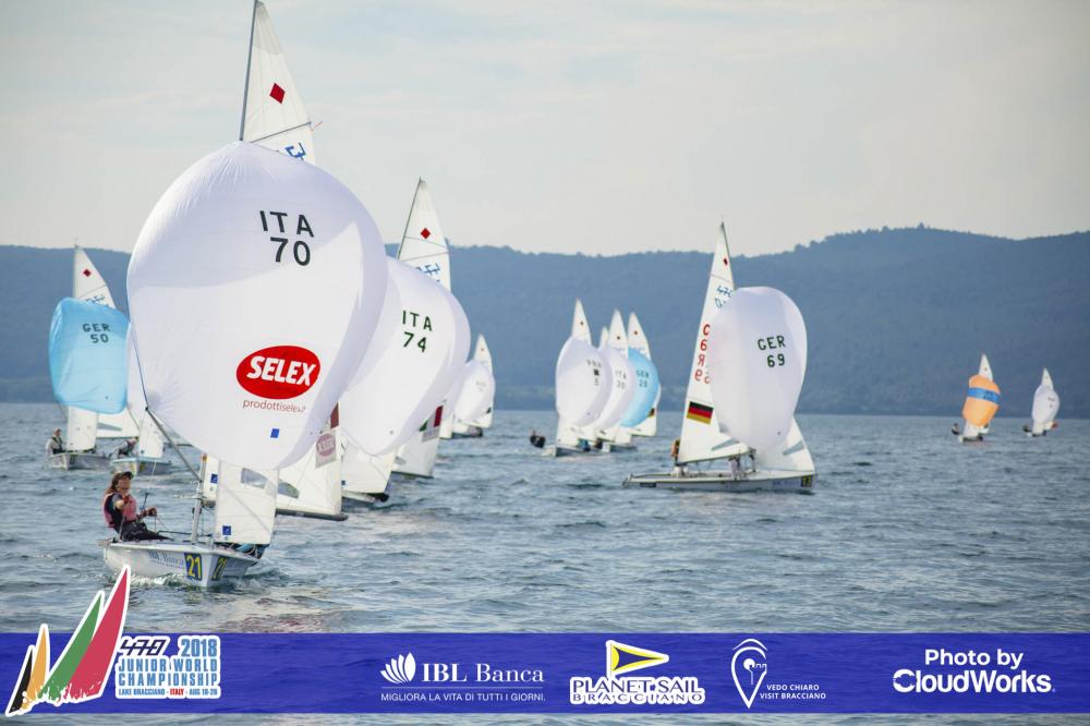 470 - Junior World Championship 2018 - Lago di Bracciano ITA - Day 3