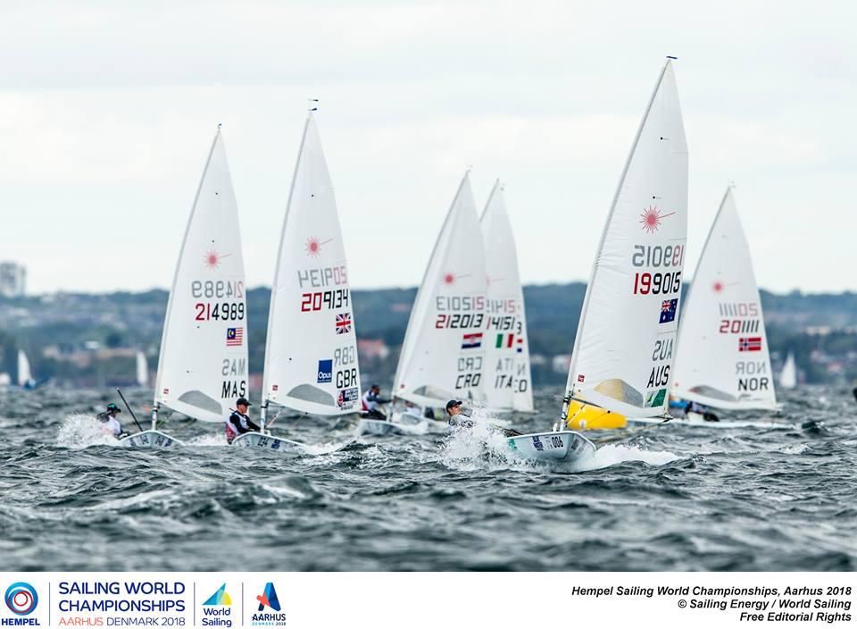 Laser Radial - Youth World Championship 2018 - Kiel GER - Day 4