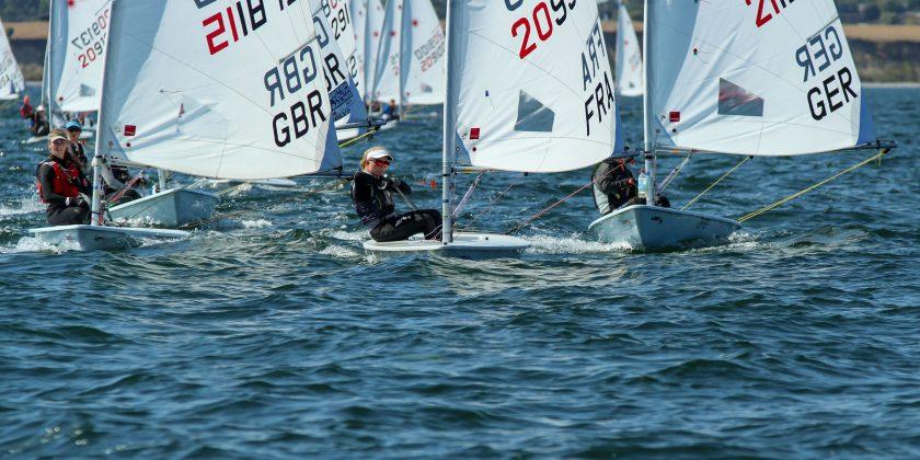 Laser Radial - Youth World Championship 2018 - Kiel GER - Day 3