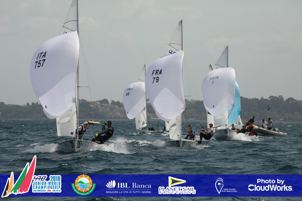 470 - Junior World Championship - Lago di Bracciano ITA - Day 5