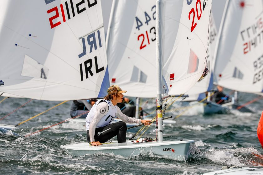 Laser Radial - Youth World Championship 2018 - Kiel GER - Final results - LOr pour les  Italiens