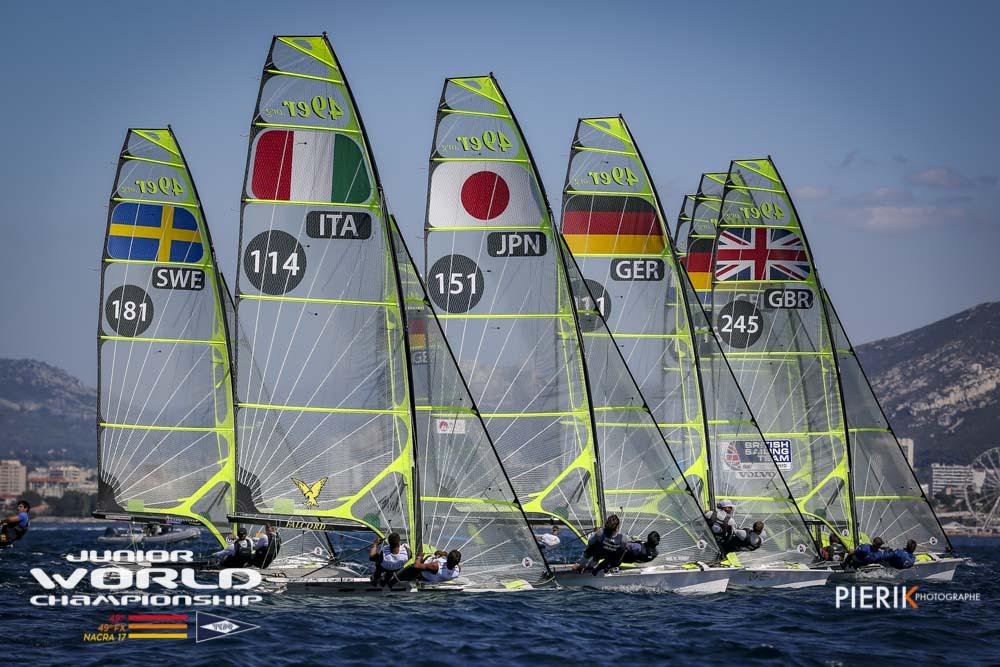 49er, 49erFX - Junior World Championship 2018 - Marseille FRA - Day 2