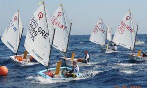 Optimist - World Championship 2018 - Limassol CYP - Day 1