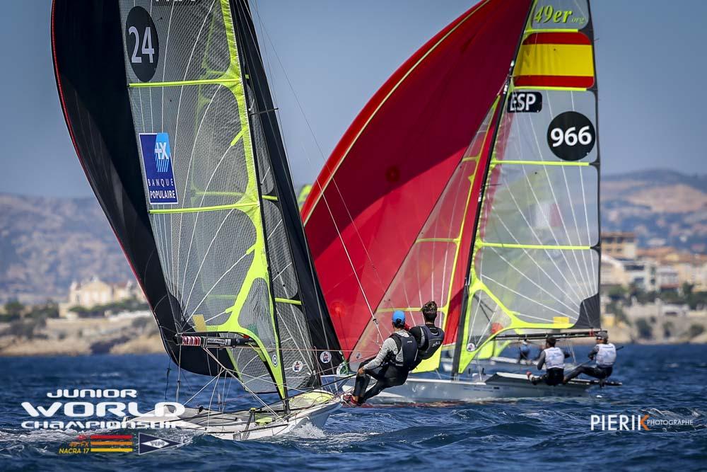 49er & 49erFX - Junior World Championship 2018 - Marseille FRA - Day 4