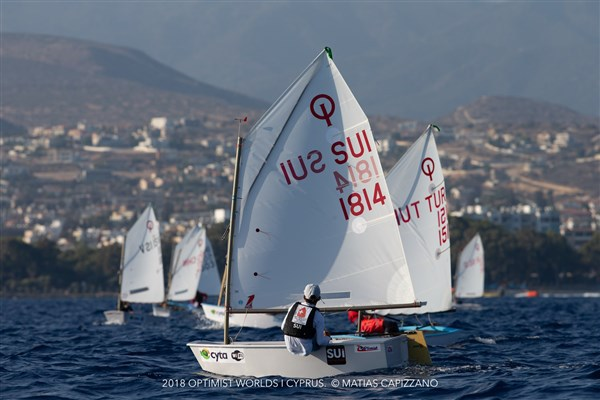 Optimist - World Championship 2018 - Limassol CYP - Day 7