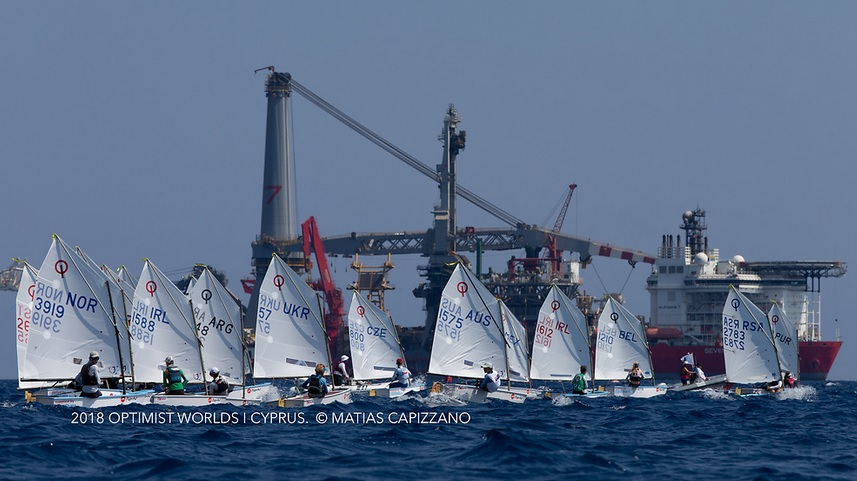 Optimist - World Championship 2018 - Limassol CYP - Day 3