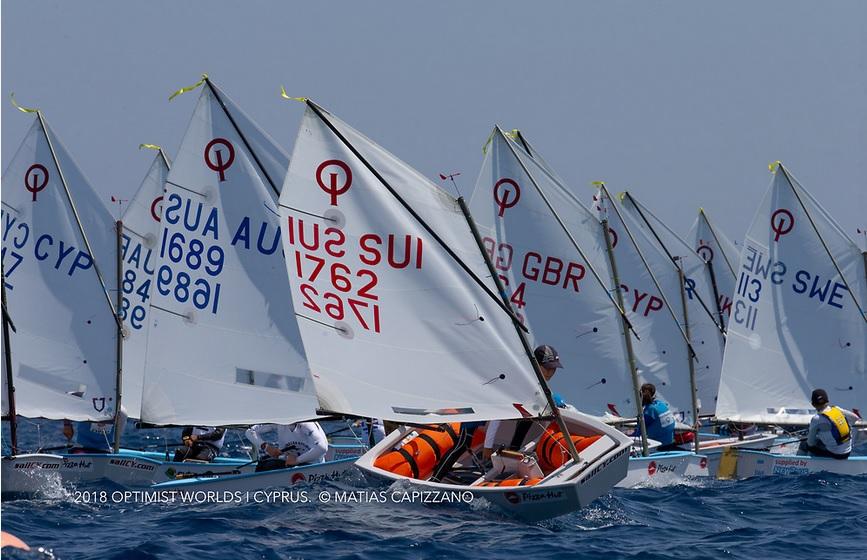 Optimist - Team Race World Championship - Limassol CYP - Day 5 - lor pour la Thaïlande