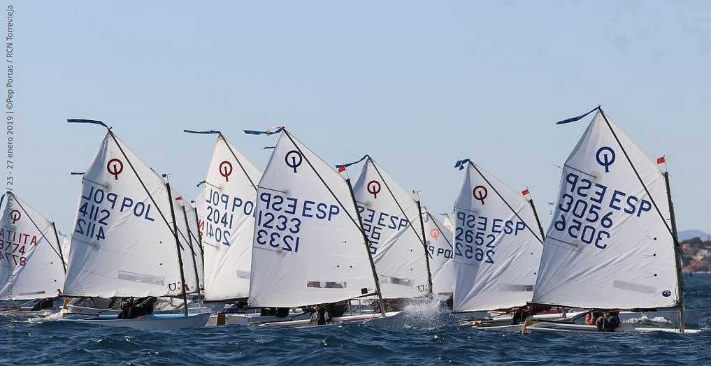 Optimist - Trofeo Euromarina - Tottevieja ESP - Day 3