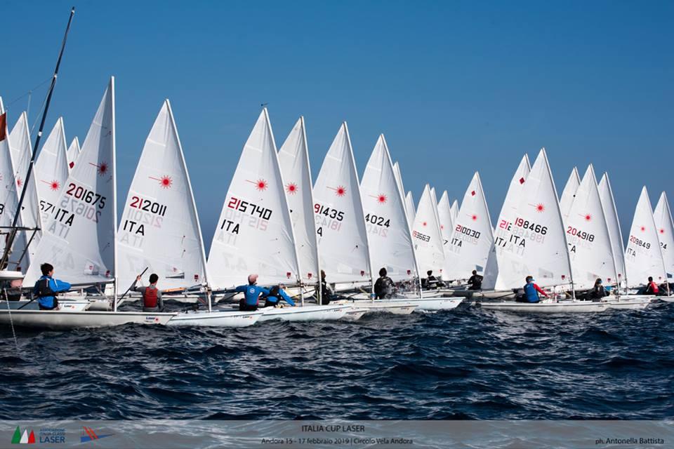 Laser - Italia-Cup, Act I - Andora ITA - Day 2