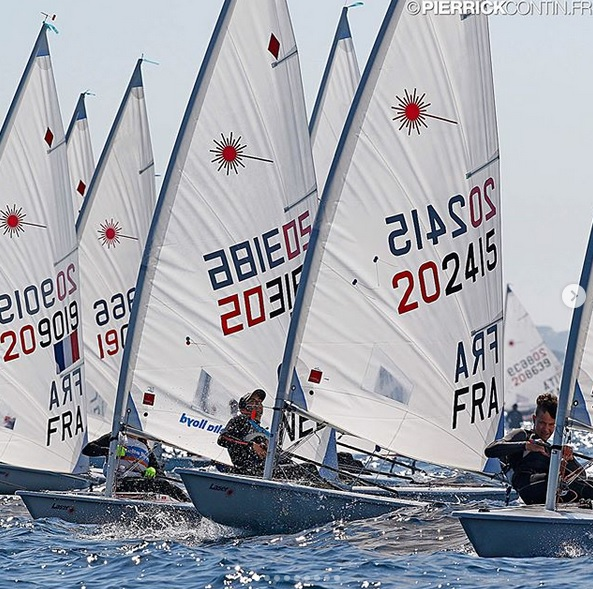 Laser - Coupe Nationale - Hyères FRA - Day 2