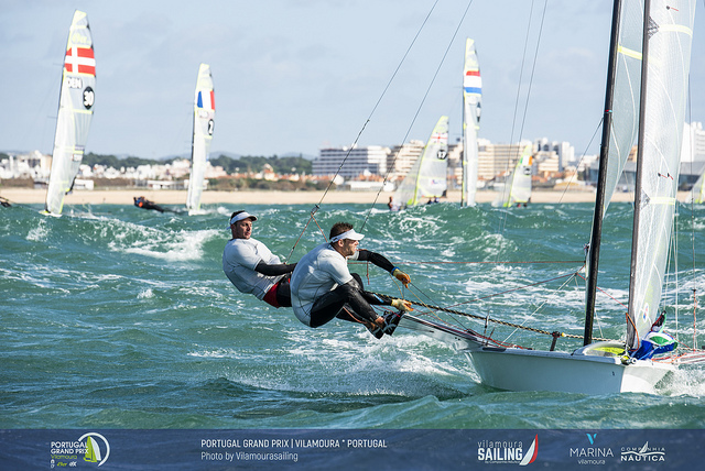 Nacra 17, 49er, 49erFX - Grand Prix - Vilamoura POR - Day 1
