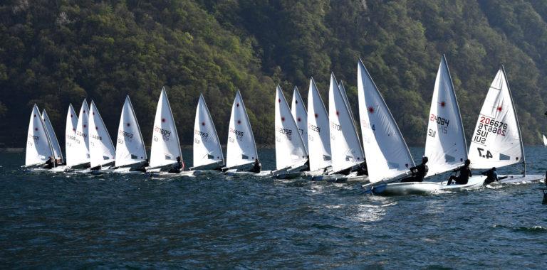 Laser - Europacup 2019 - Act 2 - CV Lago di Lugano SUI - Final results