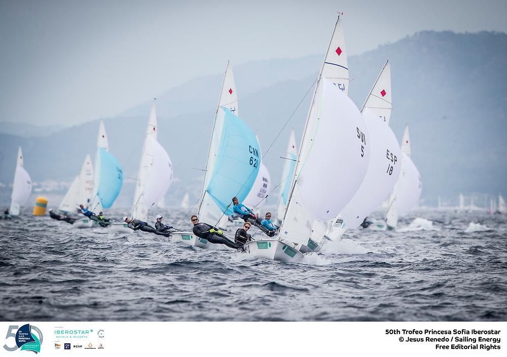 Olympic Classes - Trofeo Princesa Sofia - Palma ESP - Day 1 - Les Suisses