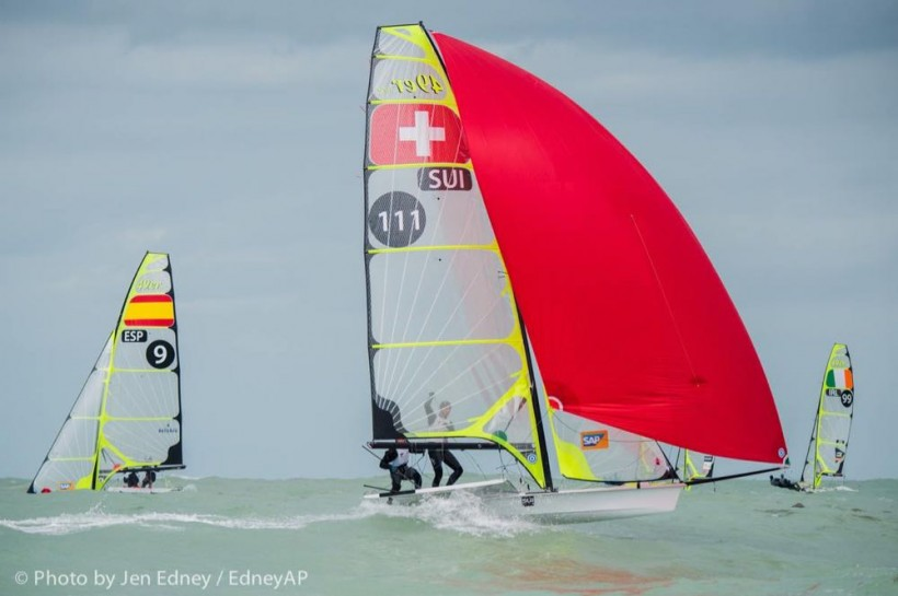 Olympic Worldup - Olympic Classes Regatta - Miami FL, USA - Day 4 - Les Suisses au Top !