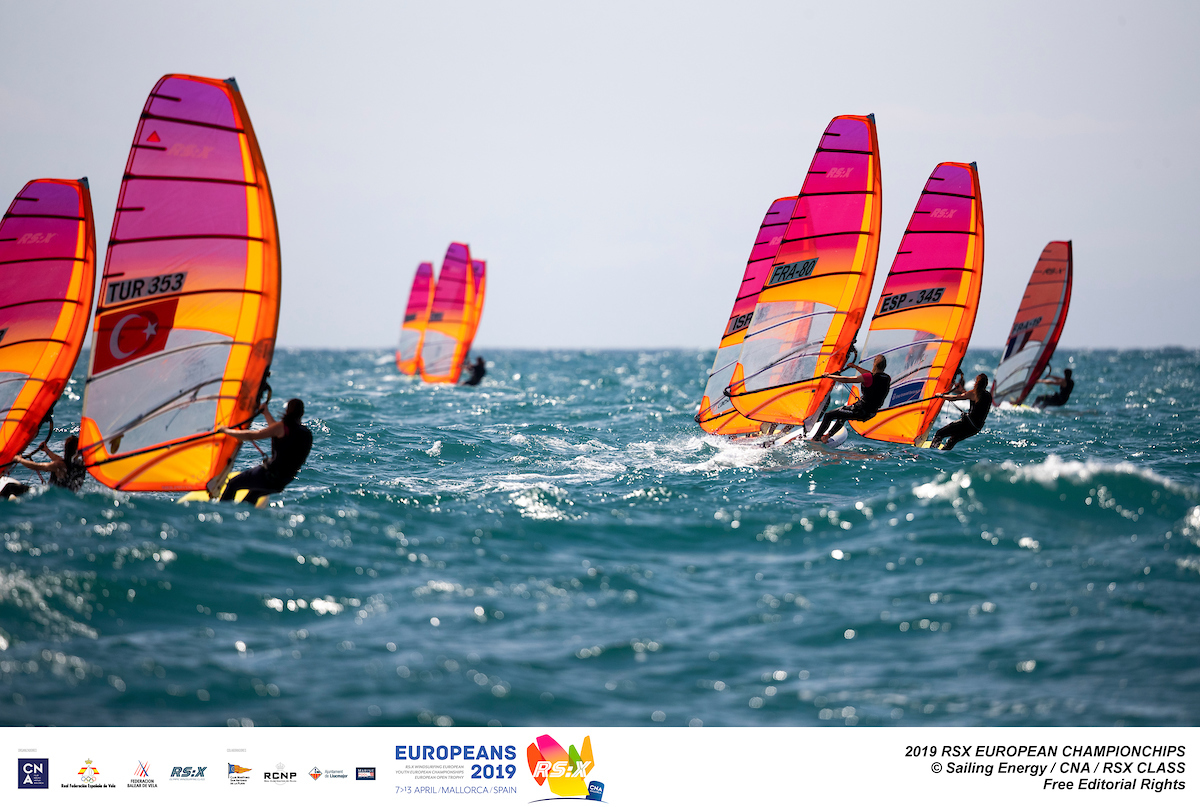 RS:X-Windsurfer - European & European Youth Championship 2019 - El Arenal ESP - Day 1