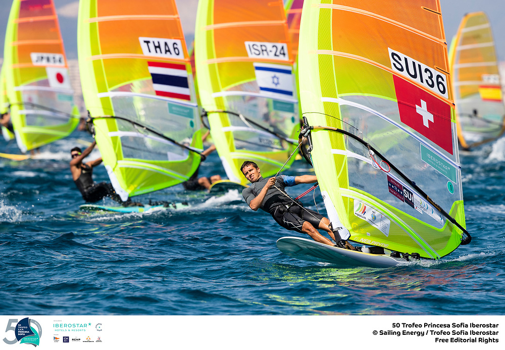 Olympic Classes - Trofeo Princesa Sofia - Palma ESP - Day 2 - La journée des Suisses !