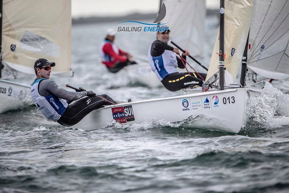 Olympic Worldcup - Olympic Classes Regatta - Miami FL, USA - Day 5 - Les Suisses