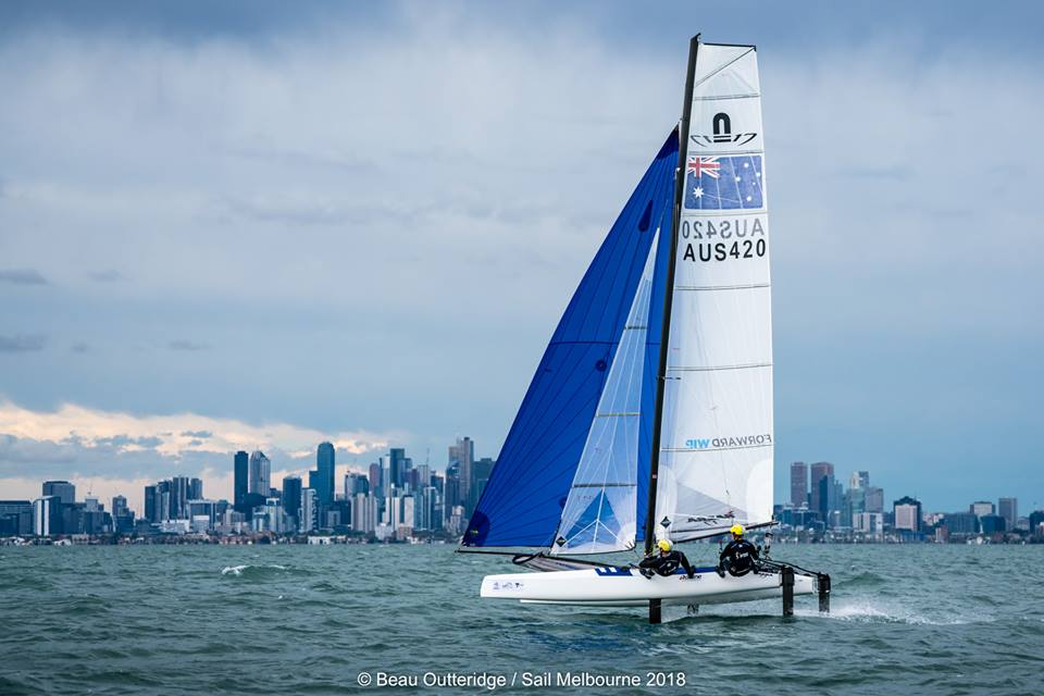 Olympic & Youth Classes - Sail Melbourne - Melbourne AUS - Day 2