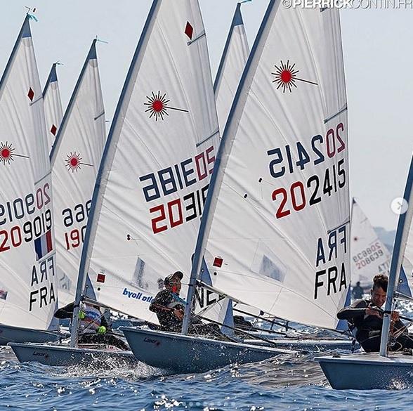 Laser - Championnat de la Méditerrannée - Hyères FRA - Day 1