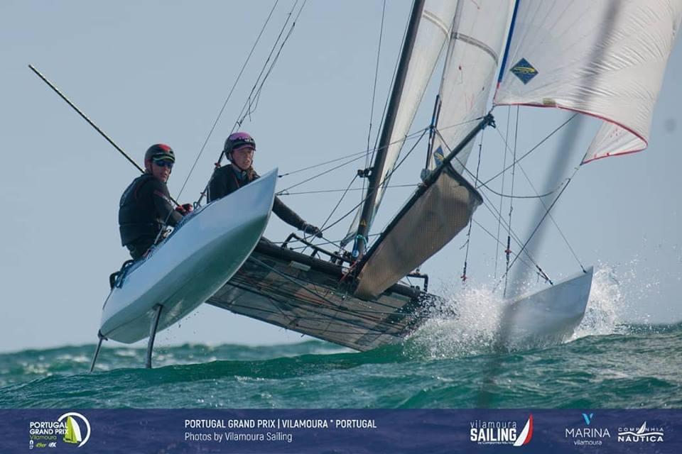 49er, 49erFX, Nacra 17 - Grand Prix - Vilamoura POR - Day 3