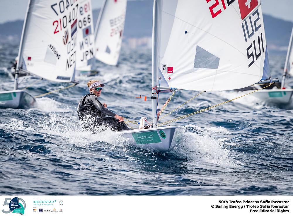 Olympic Classes - Trofeo Princesa Sofia - Palma ESP - Day 5 - Medal Race für Mateo Sanz-Lanz und Maud Jayet SUI