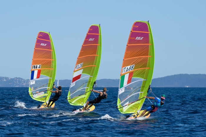 RS:X-Windsurfer - Semaine Olympique - Hyères FRA - Day 1