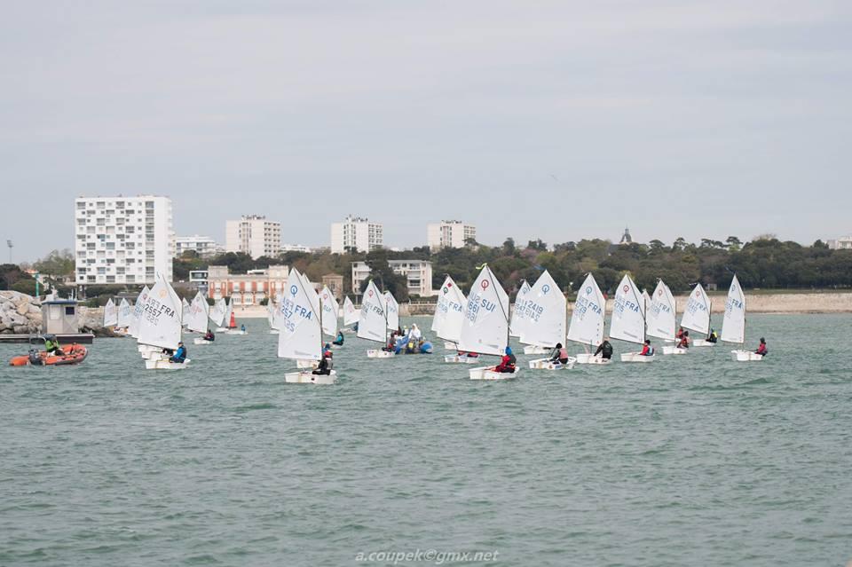 Optimist - Coupe International - La Rochelle FRA - Day 2