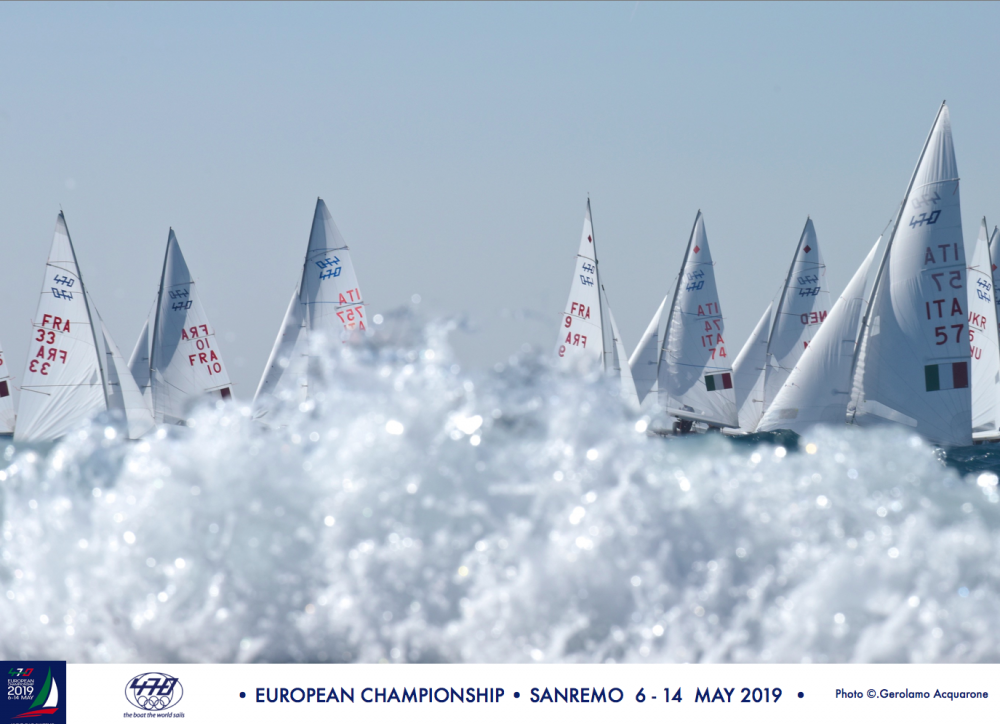 470 - European Championship 2019 - San Remo ITA - Premier départ aujourdhui