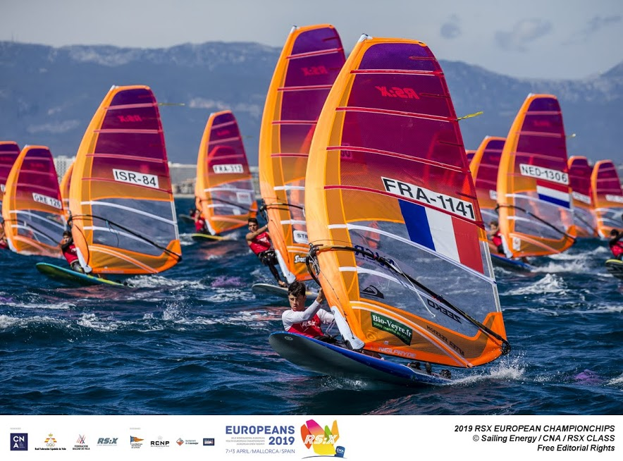 RS:X-Windsurfer - European & European Youth Championship 2019 - El Arenal ESP - Day 3