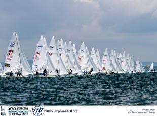 470 - European Championship 2019 - San Remo ITA - début aujourdhui