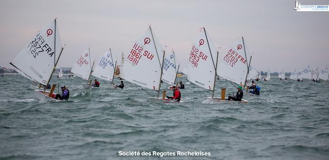 Optimist - Coupe Internationale de Printemps - La Rochelle FRA - Day 4