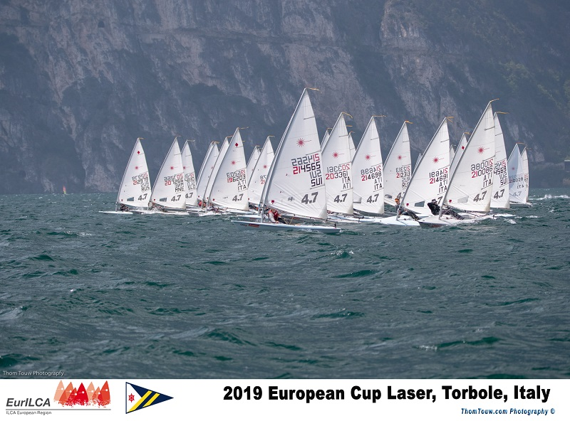 Laser - Europacup 2019 - Act 4 - Torbole ITA - Final results
