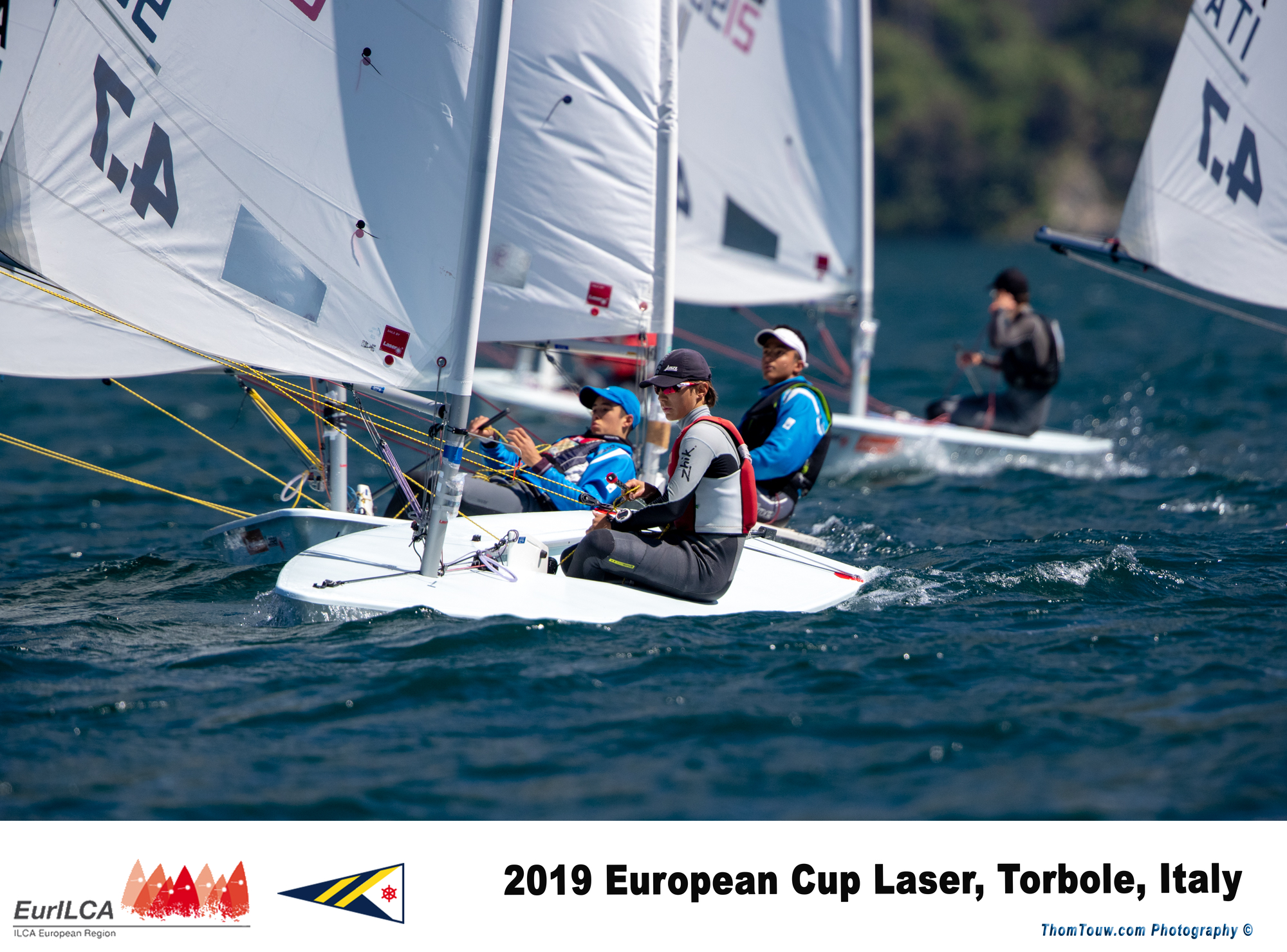Laser - Europacup 2019 - Act 4 - Torbole ITA - Day 1