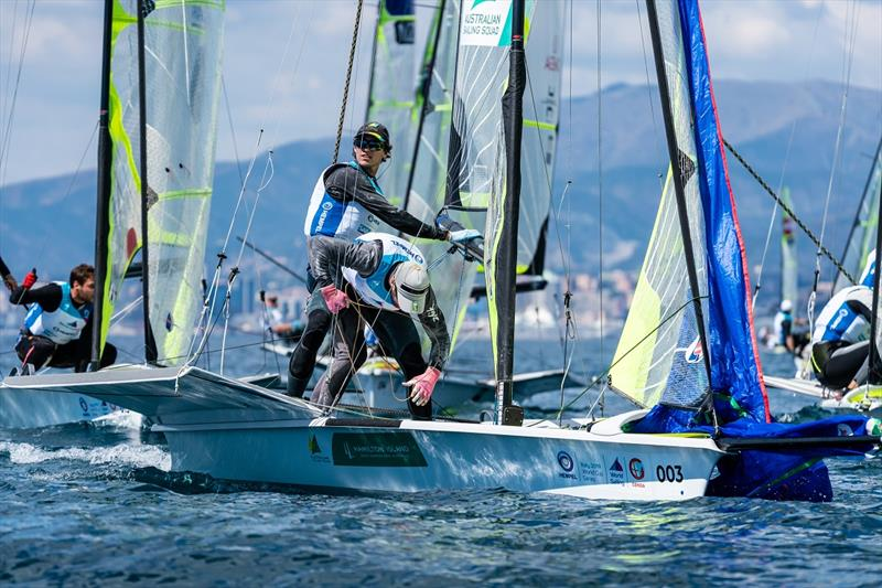 Olympic Worldcup 2019 - Act 3 - Genua ITA - Day 1
