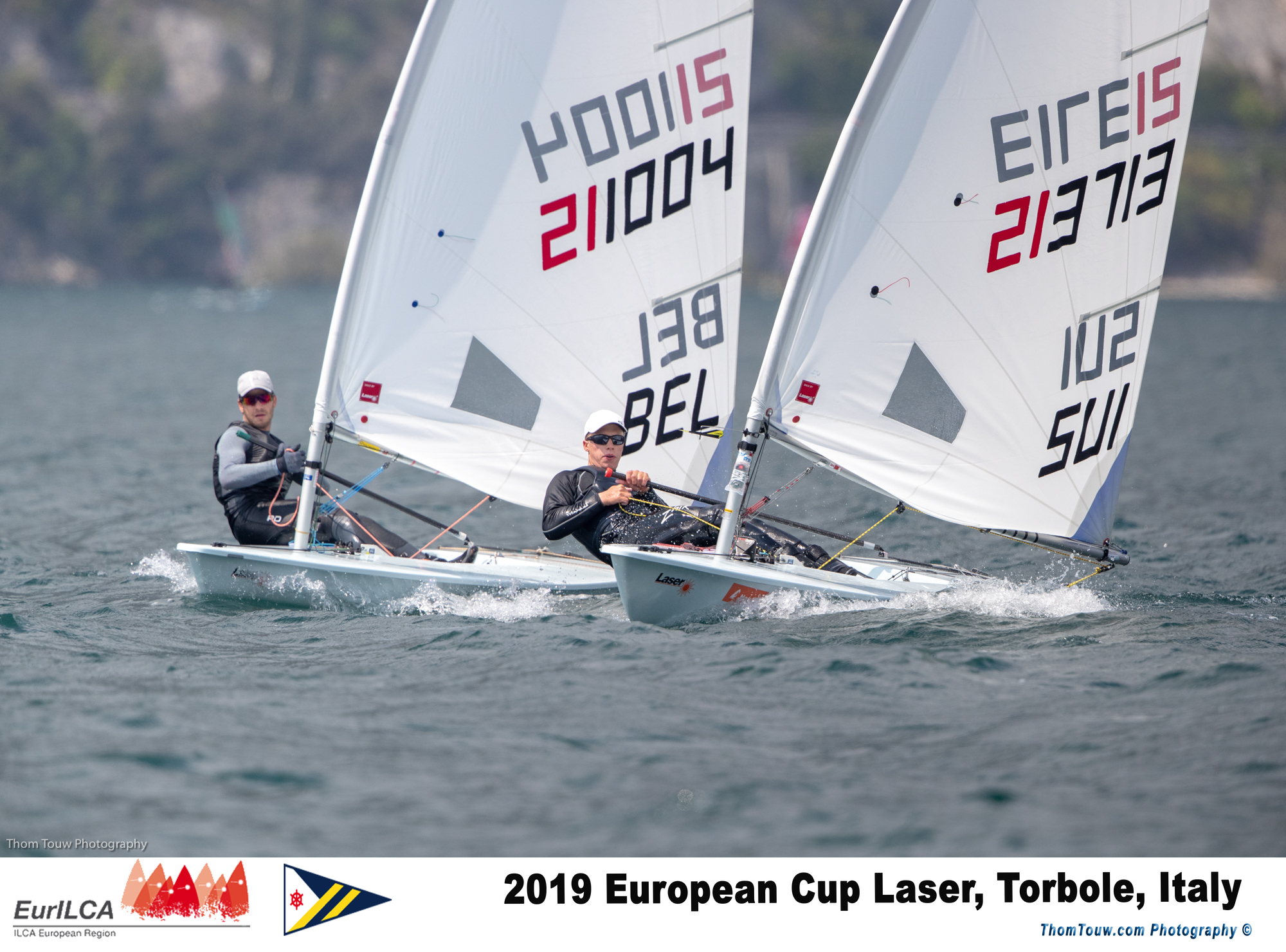Laser - Europacup 2019 - Act 4 - Torbole ITA - Day 2