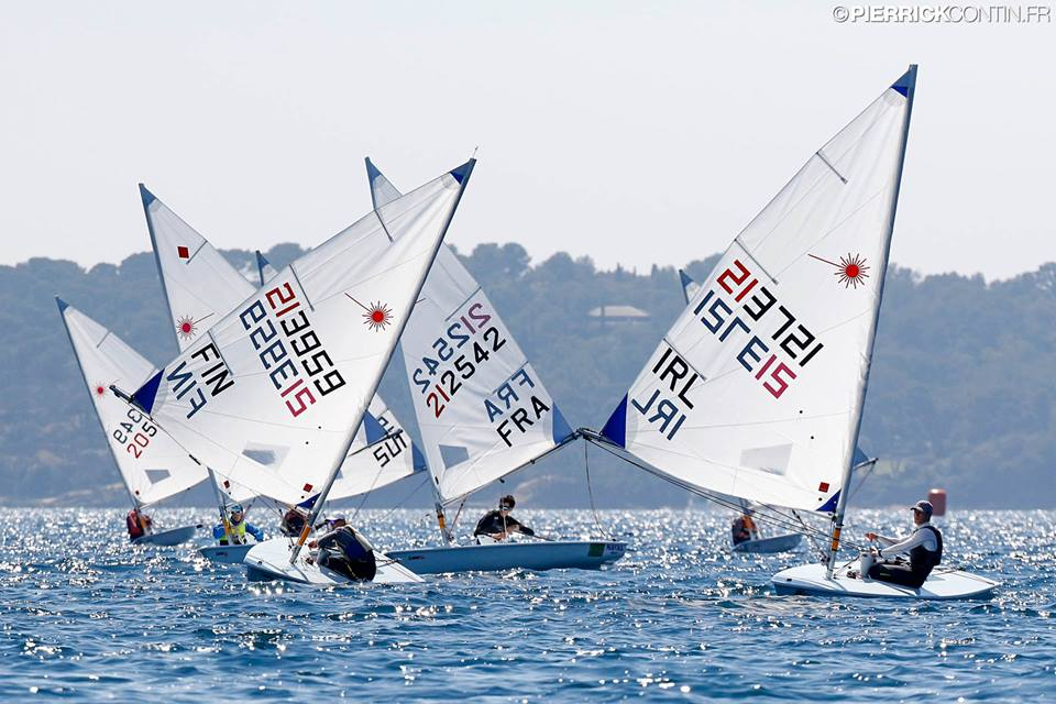 Laser - Europacup 2019 - Act 3 - Hyères FRA - Day 3