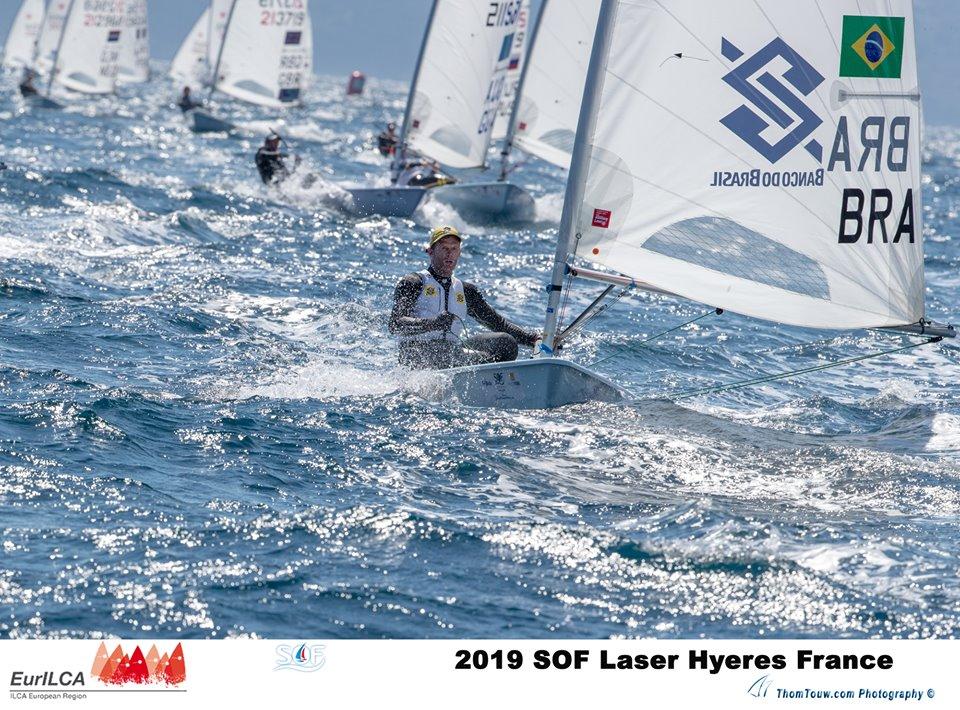 Laser - Semaine Olympique - Hyères FRA - Day 3